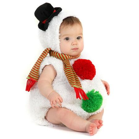 Baby Snowman Infant / Toddler Costume (Diy Snowman Costume)