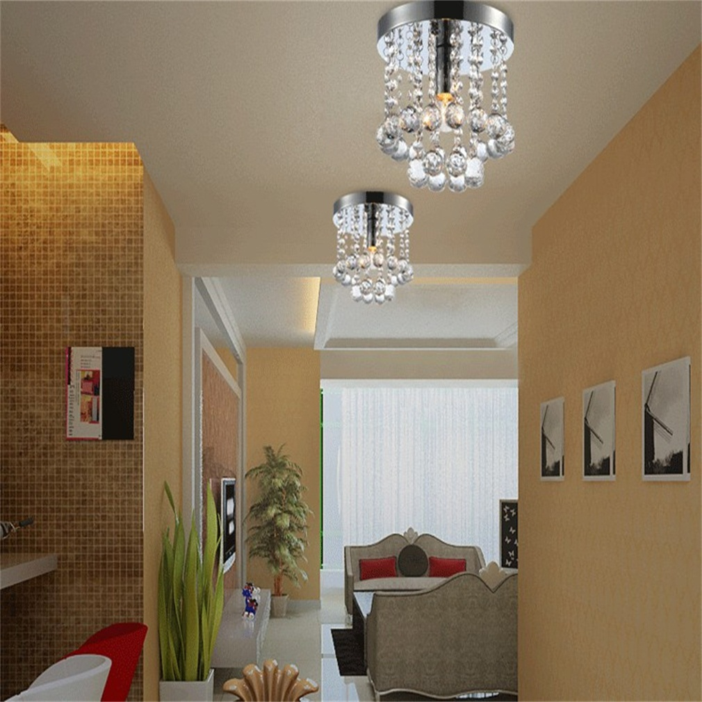 Modern Crystal Ceiling Lamp Chandelier Ceiling Pendant by