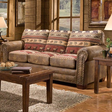 American Furniture Clics Sierra Lodge Sofa