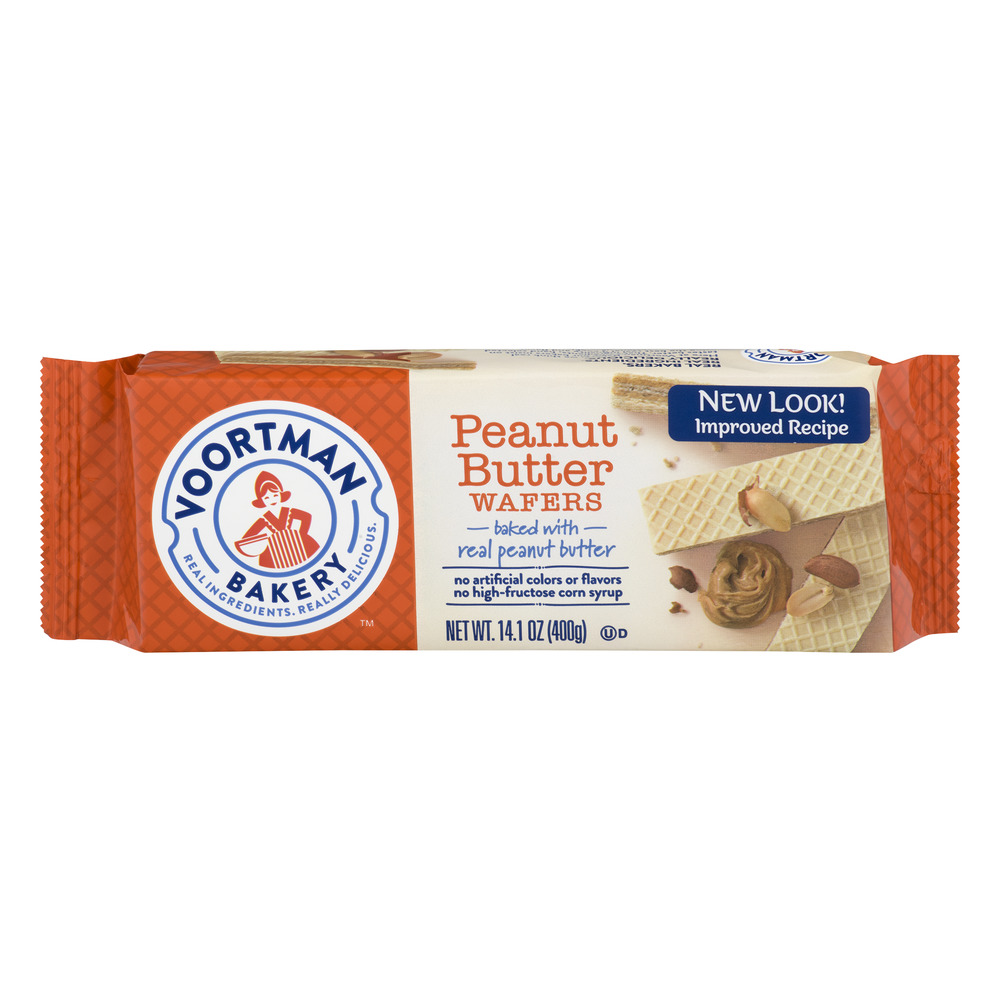 Voortman Bakery Peanut Butter Wafers, 14.1 oz