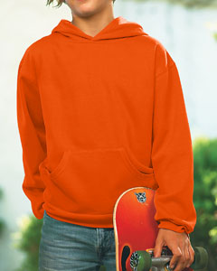 LAT Drop Ship Youth Fleece Hooded Pullover Sweatshirt With Pouch Pocket