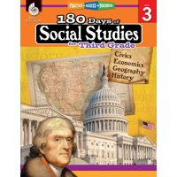 180 Days of Practice: 180 Days of Social Studies for Third Grade: Practice, Assess, Diagnose (Paperback)