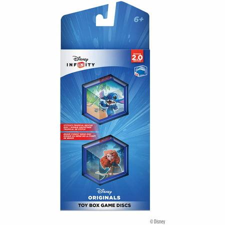 Disney Infinity: Disney Originals (2.0 Edition) Toy Box Game Discs (Universal)