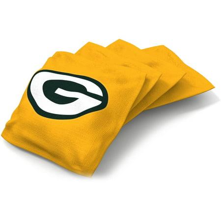 Wild Sports NFL Green Bay Packers XL Bean Bag 4pk (Green Bay Packers Nfl Rug)