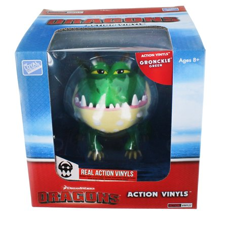 how to train your dragon 6 7 action vinyl gronckle green