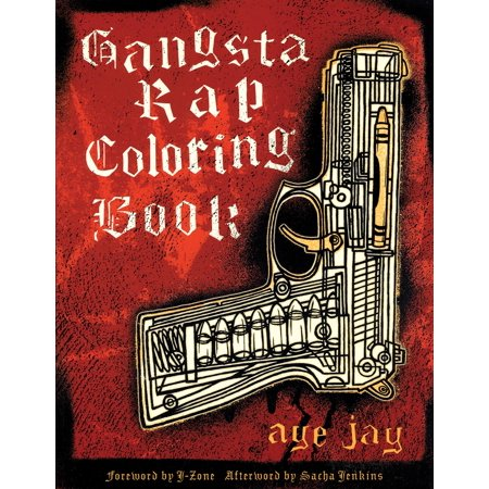 Gangsta Rap Coloring Book - Walmart.com