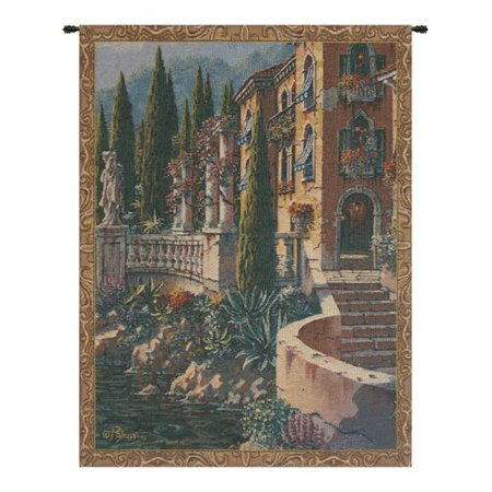 Charlotte Home Furnishings Morning Reflections by Robert Pejman Mini Tapestry ()