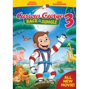 Curious George 3: Back to the Jungle (DVD) by Universal