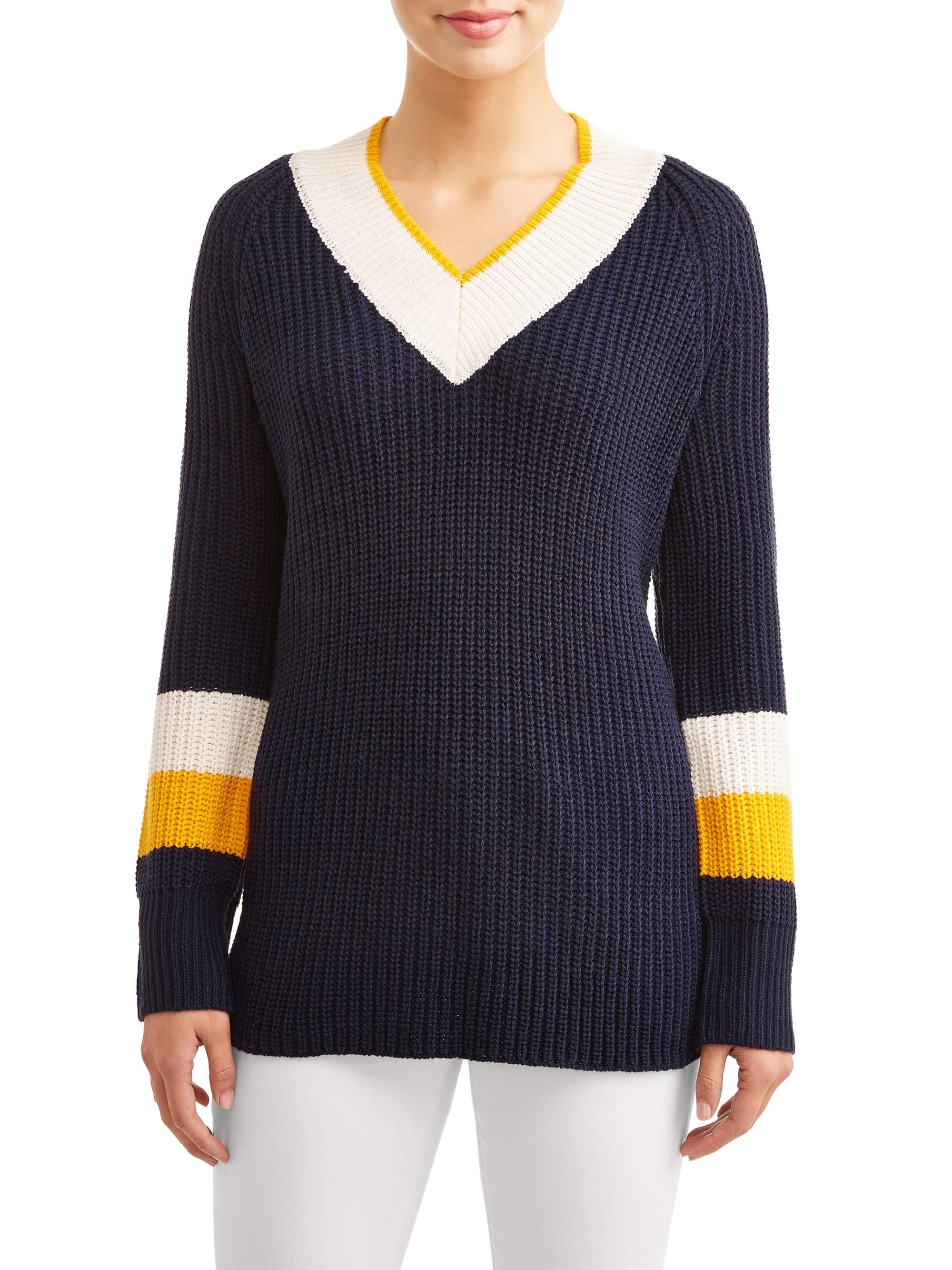 Women's Varsity Stripe Tunic Sweater