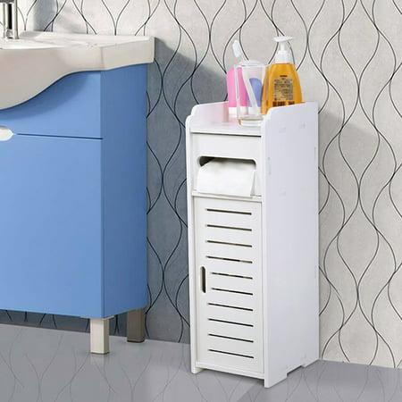 Zerone Waterproof Bathroom Cabinets Furniture for Living Room Bedroom Kitchen Hallway Bathroom , Toilet Storage Cabinet, Bathroom (Floor To Ceiling Cabinets For Living Room)