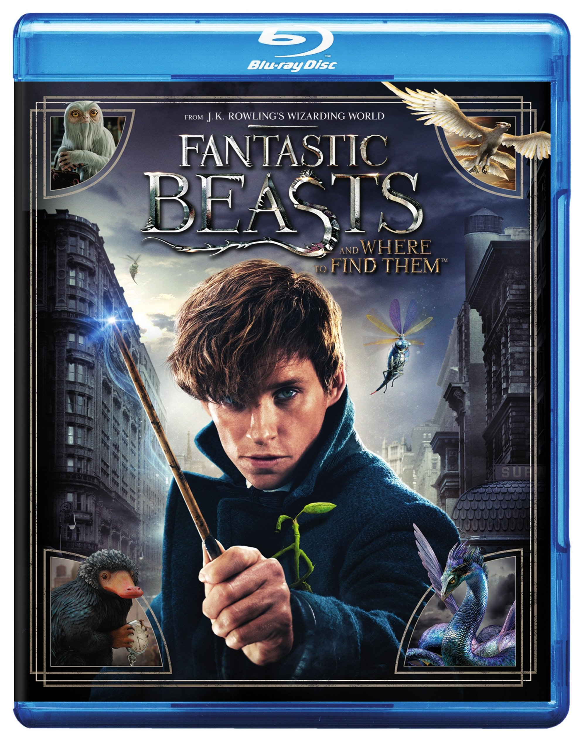 Fantastic Beasts And Where To Find Them (Blu-ray) by