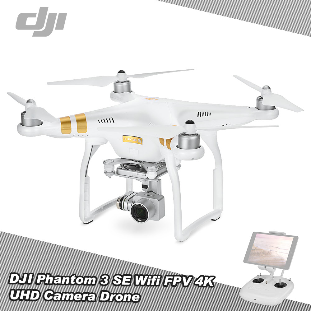 Dji Phantom 3 Se Wifi Fpv 4k Uhd Camera Drone 4km Long Distance