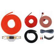 Maxpower KIT0G Max Power Amp Kit 0 Gauge; 3600 Watts