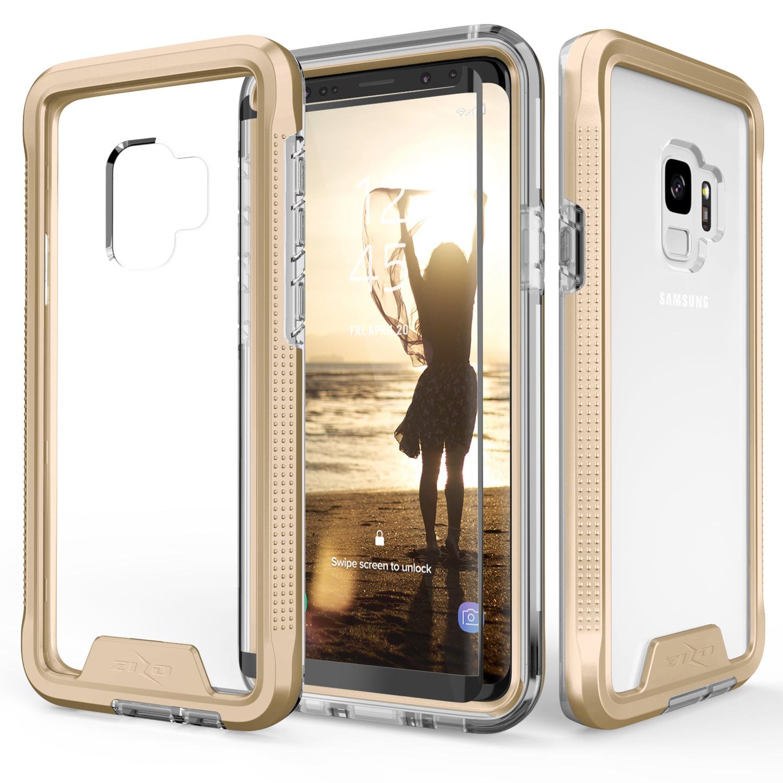Zizo ION Series Samsung Galaxy S9 / S9 Plus Case - Military Grade w/ Screen Protector