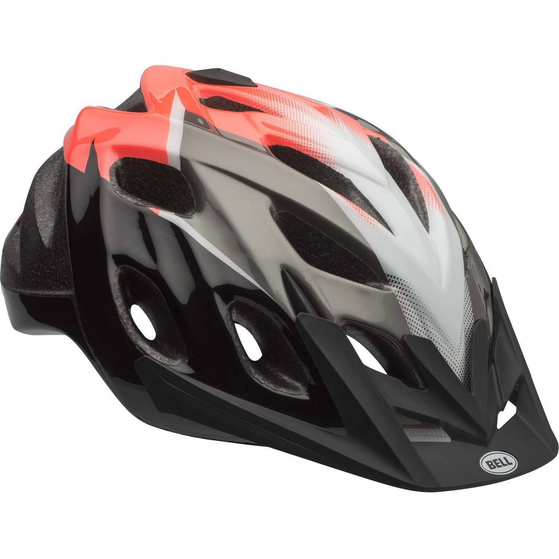 Bell Sports Knack Trama Adult Bike Helmet, Black/Red