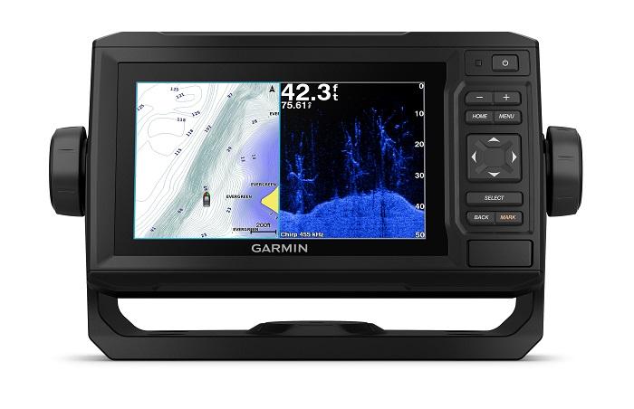 Garmin ECHOMAP Plus 63CV Combo US Lakes With CV20-TM by Garmin