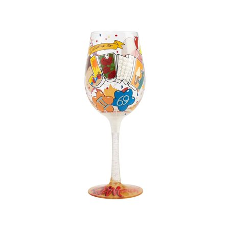 Lolita 4058066 June Birthday Wine Glass