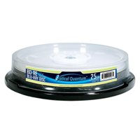 10 Pack 2X 25GB BD-RE Blu-ray Blank Disc Logo Top