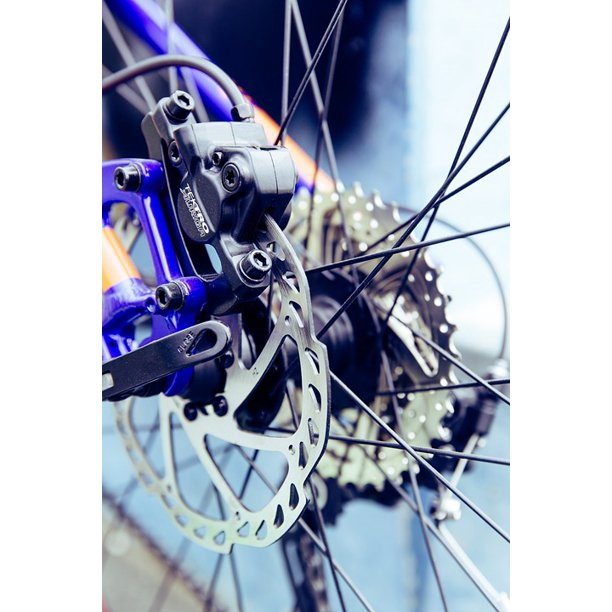 Bike Disc Brake Brake Wheel Cycling Mountain Bike 20 Inch By 30 Inch Laminated Poster With Bright Colors And Vivid Imagery Fits Perfectly In Many Attractive Frames Walmart Com Walmart Com