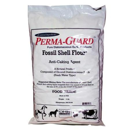 Perma Guard Diatomaceous Earth Fossil Shell Flour Food Grade 2 lb (Food Grade Fossil Shell Flour Diatomaceous Earth)