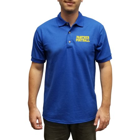 Panther Football Polo Shirt Coach Eric Taylor Friday Night Lights TV Tee Costume