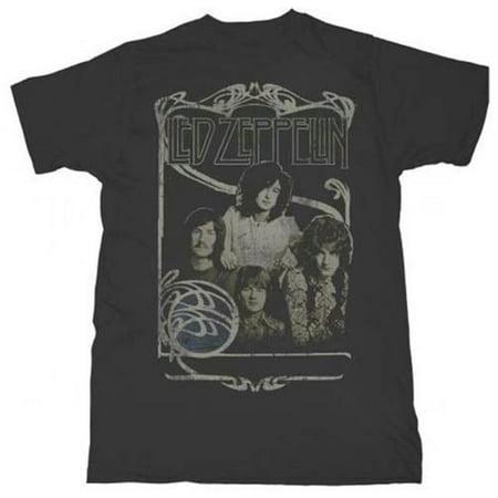 Live Nation Lnm Lz142 Xl Led Zeppelin Good Times Bad Times T Shirt   Black   Xl