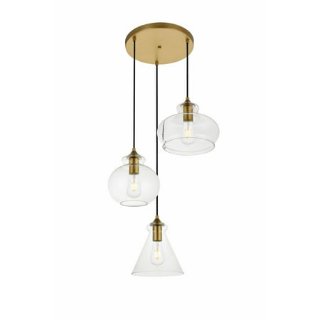 - Elegant Lighting LD2247 Destry 3 Light 19