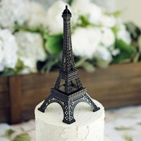 BalsaCircle 10 inch Eiffel Tower Centerpiece - Party Wedding Home Dinner Table Kids Room Decorations