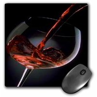 3dRose Pour A Glass Of Red Wine, Mouse Pad, 8 by 8 inches