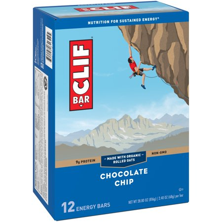Clif Energy Bar  Chocolate Chip  12 Ct