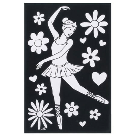 Velvet Poster With Markers Ballerina 6X9](Velvet Posters To Color)