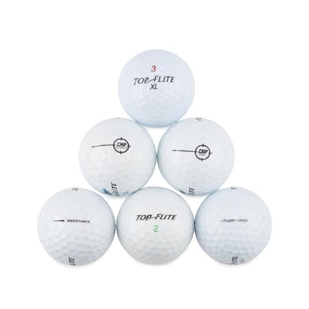 - Top Flite Golf Balls, Used, Near Mint Quality, 96 Pack
