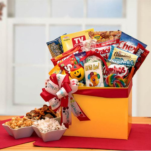 Get Well Wishes Gift Box by Gift Basket Drop Shipping