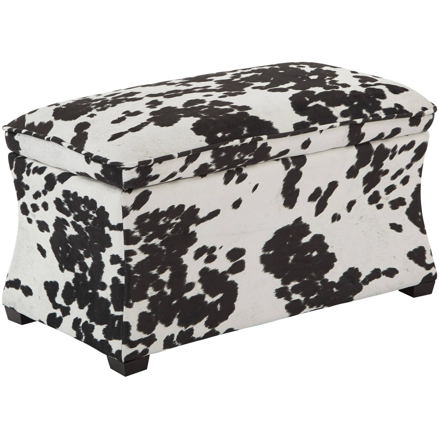 Hourglass Storage Ottoman, Various Colors