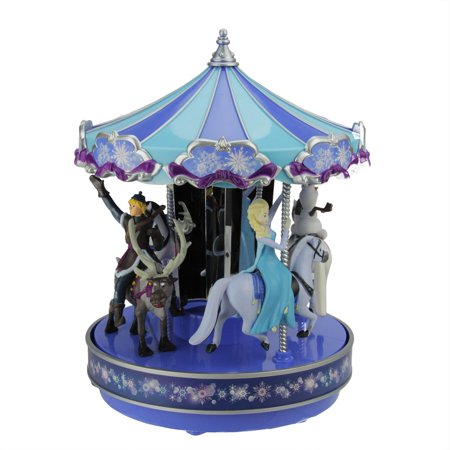 Mr. Christmas Disney Frozen Animated Musical Carousel Decoration #11851 (Frozen Christmas Decorations)