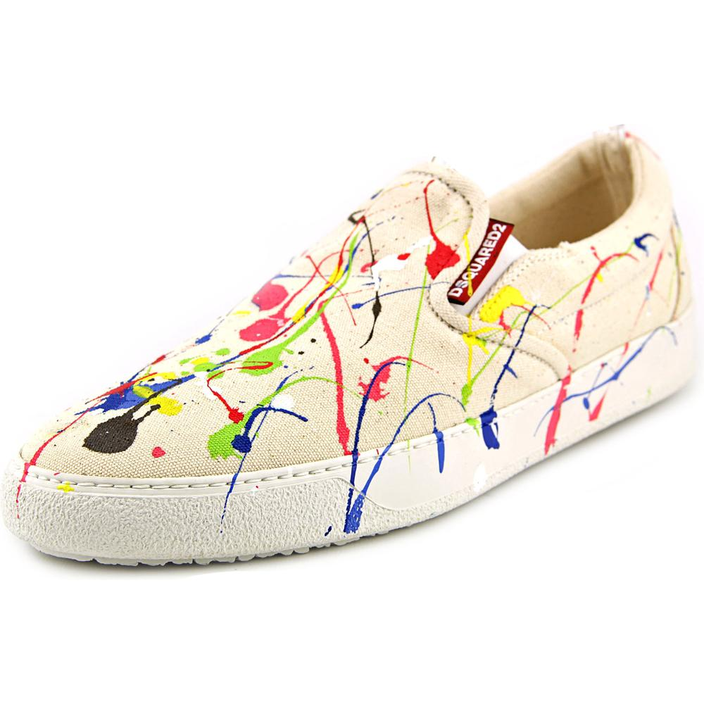 DSquared2 M037   Round Toe Canvas  Sneakers