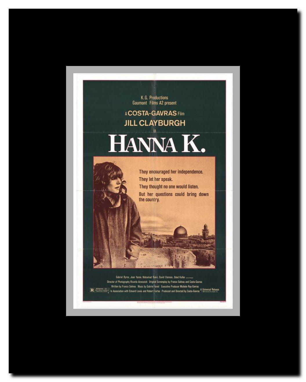 Hanna K  Framed Movie Poster