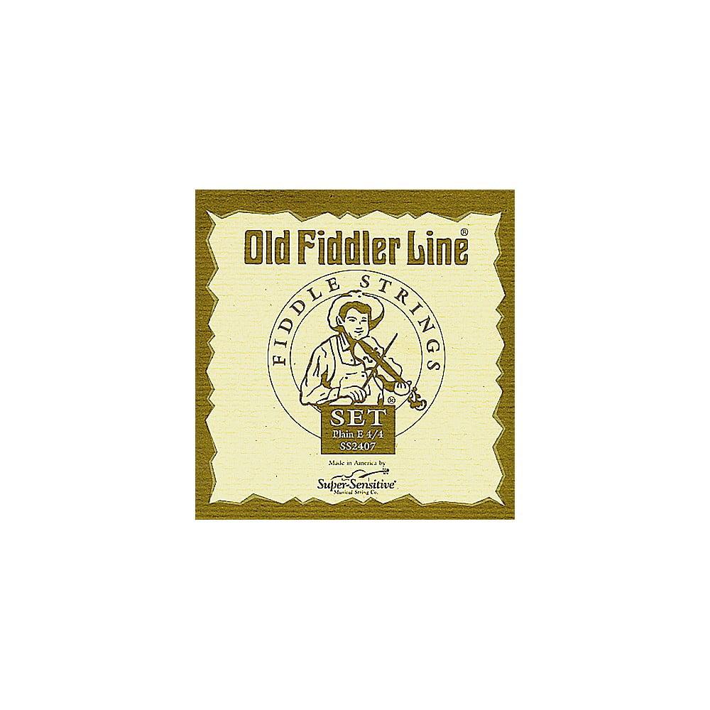 Super Sensitive Old Fiddler Violin Strings A, Medium 4 4 Size by Super Sensitive