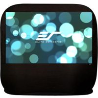 "Elite Screens POP84H 84"" 16:9 Pop-up Cinema Portable Screen"