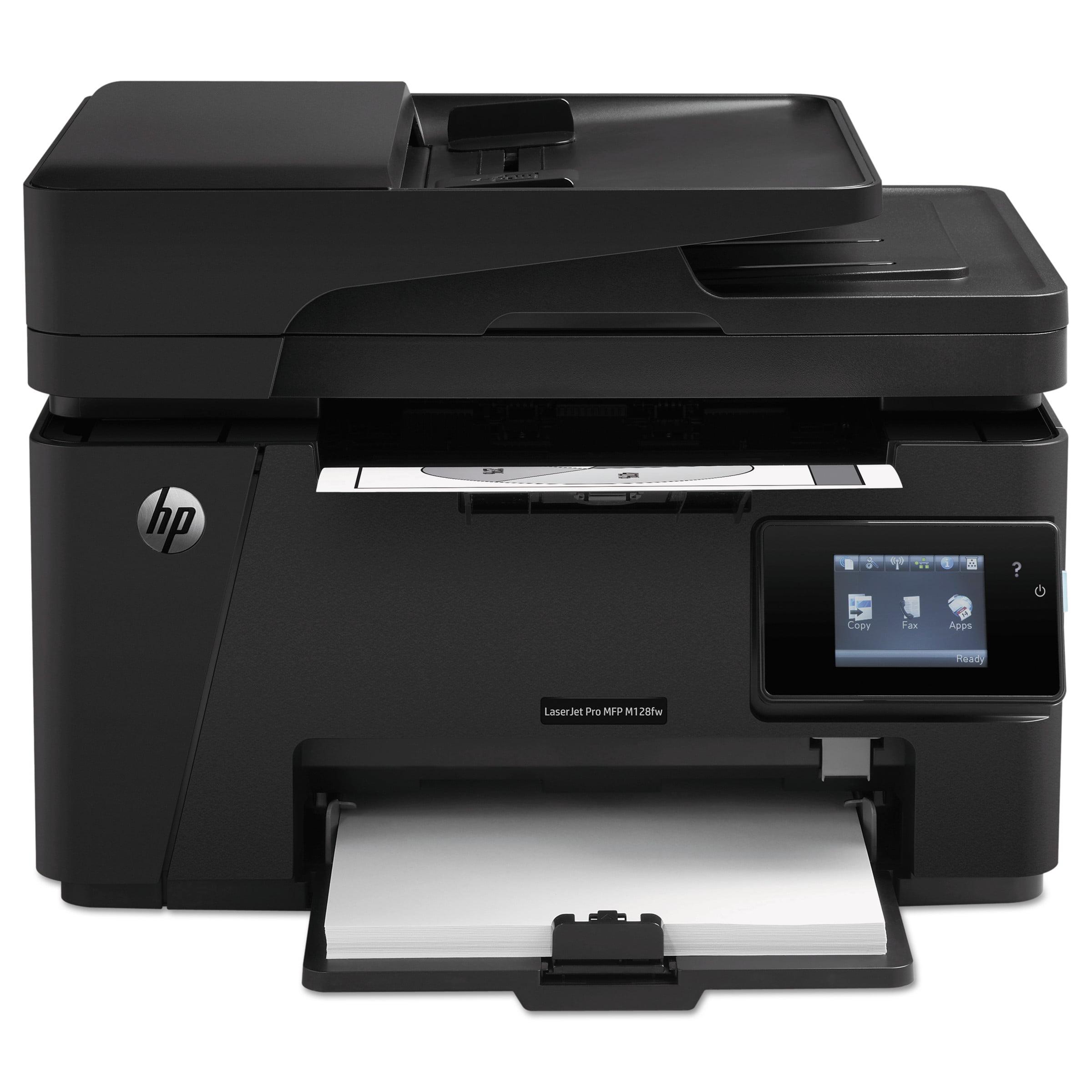 HP LaserJet Pro MFP M127fw Wi-Fi Multifunction Laser Prin...