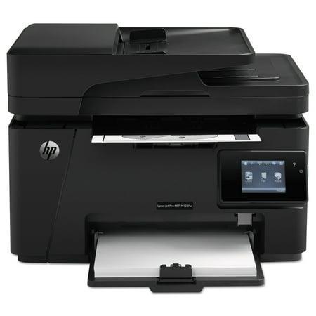 HP LaserJet Pro MFP M127fw Wi-Fi Multifunction Laser Printer, Copy/Fax/
