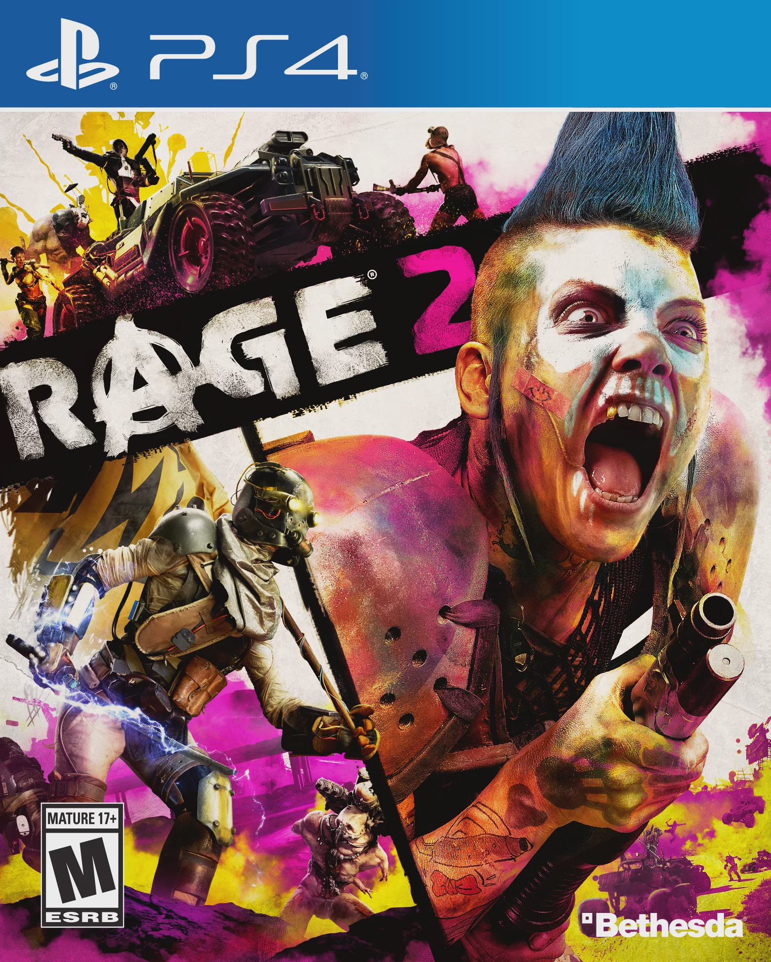 Rage 2, Bethesda, PlayStation 4, 093155174078