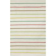 Liora Manne Sorrento Candy Stripe Neutral Indoor/Outdoor Area Rug