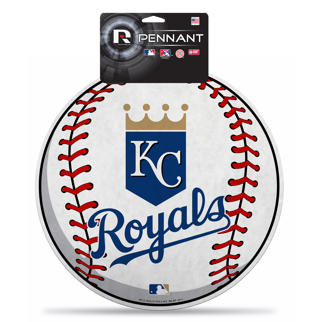 "Kansas City Royals 15"" Die-Cut Felt Pennant Wall Sign"