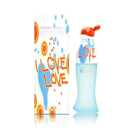 406ca98435ac7 Moschino - I Love Love by Moschino Eau De Toilette Spray 1.7 oz for Women -  Walmart.com