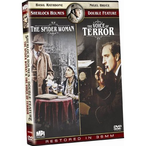 The Sherlock Holmes Double Feature: The Spider Woman / Sherlock Holmes And The Voice Of Terror
