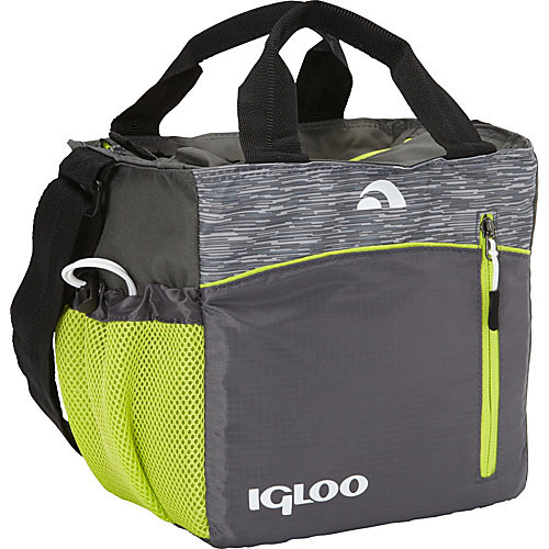 Igloo Mini City 9 Insulated Stowe - Grey/Lime