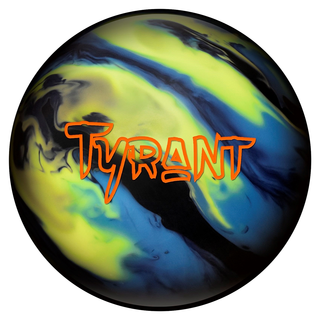 Columbia 300 Tyrant Bowling Ball- Black Yellow Blue (15lbs) by Columbia 300 Bowling Products