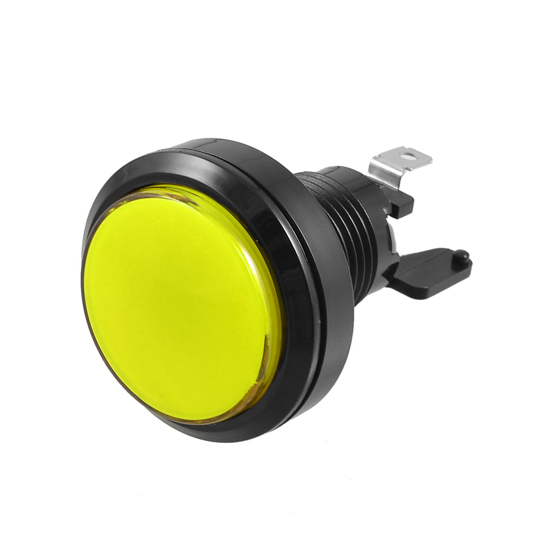 Arcade Game Machines 36mm Dia Yellow Cap Momentary Push Button Switch