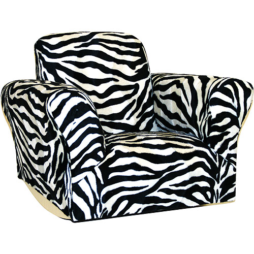 Kids Rocking Chair, Zebra